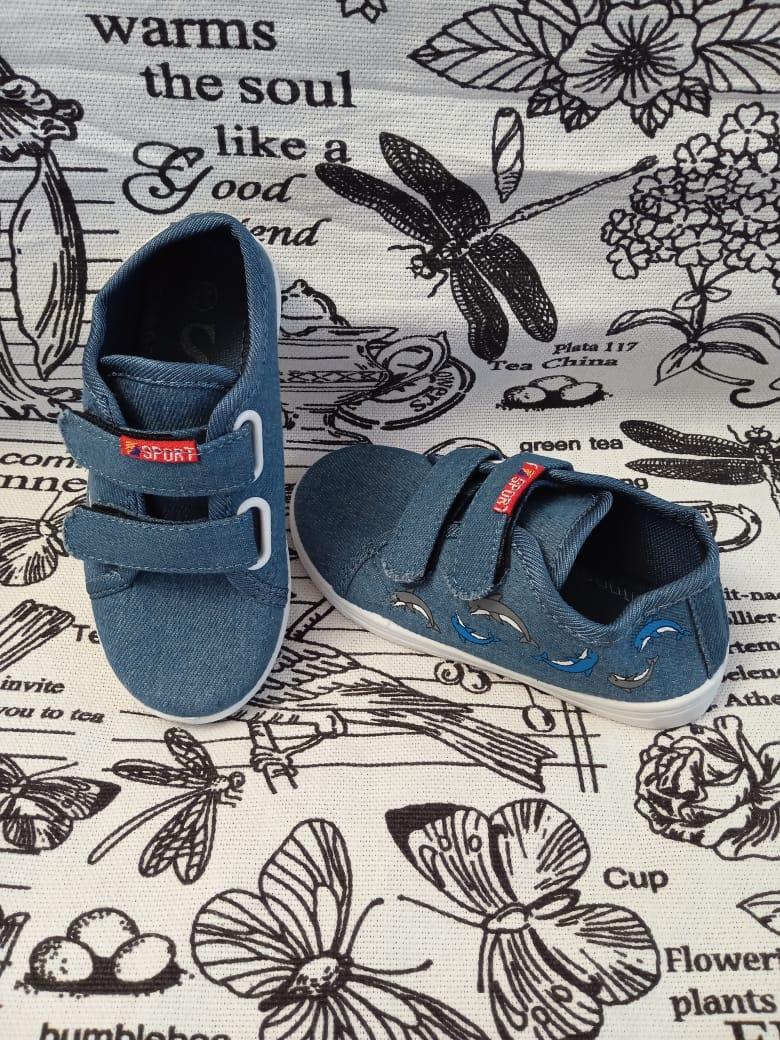 Детские кеды для мальчиков SISTER, цвет: синий, артикул: 9353