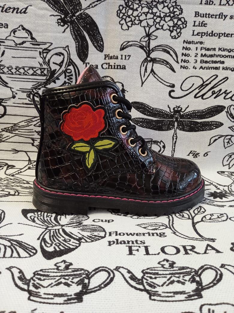 Детские ботинки для девочки СМЕЛЫЙ СКУБИ, цвет: бордовый, артикул: СК-У-1