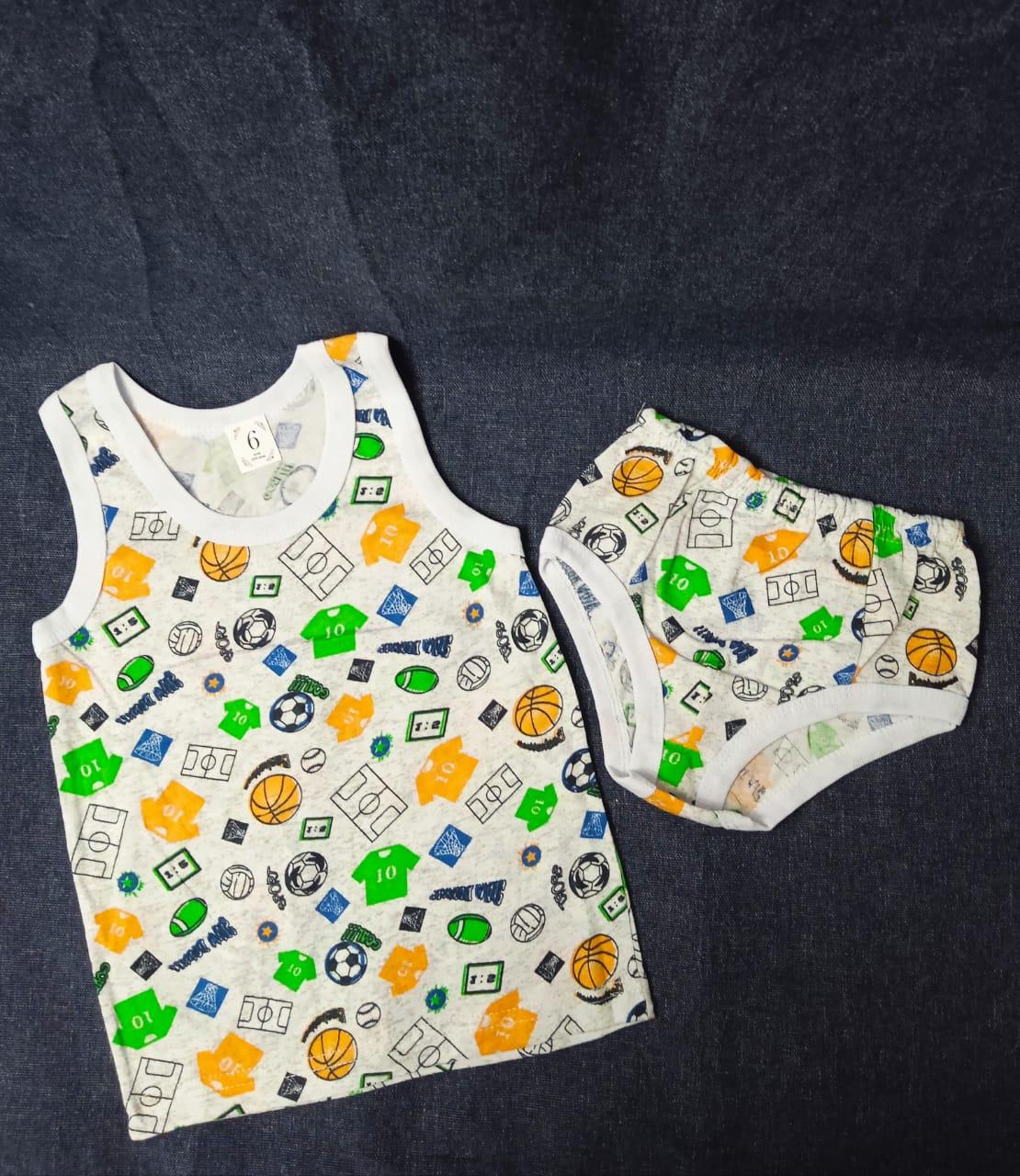 Детский комплект нижнего белья для мальчиков, артикул: KOM4
