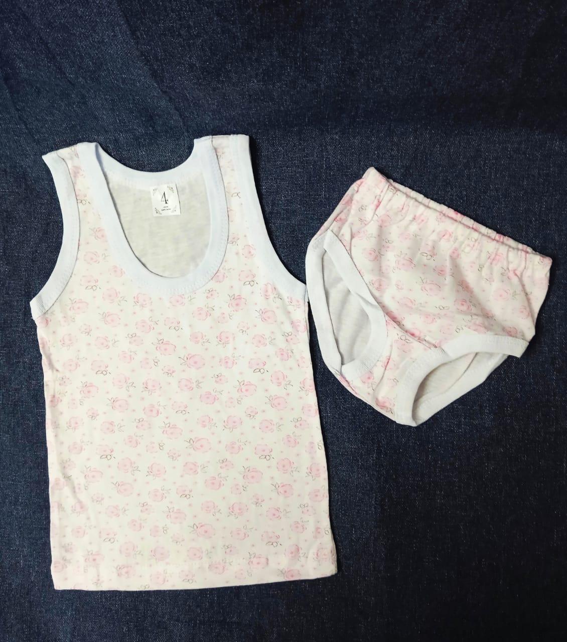 Детский комплект нижнего белья для девочек, артикул: KOM9