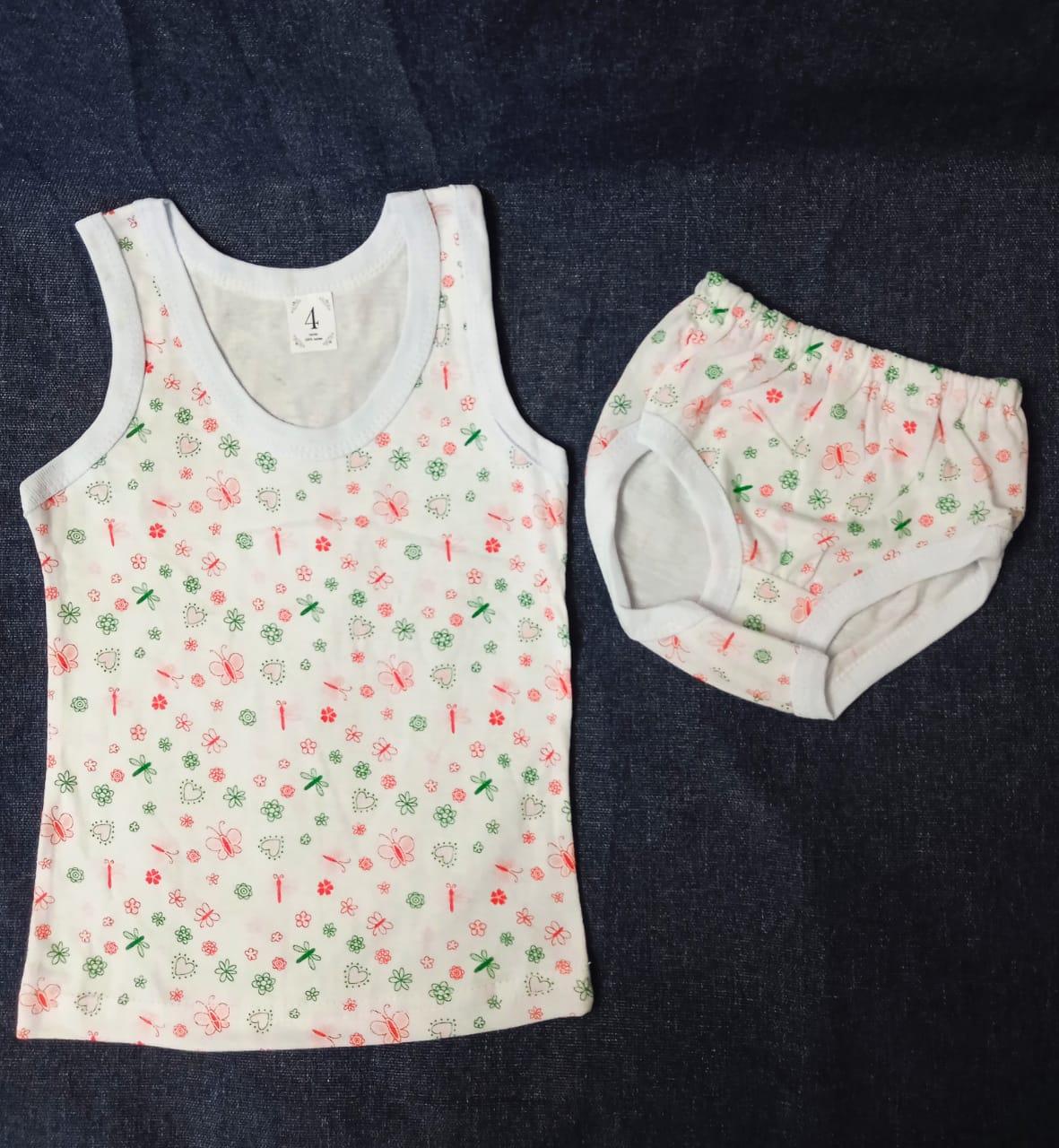 Детский комплект нижнего белья для девочек, артикул: KOM10