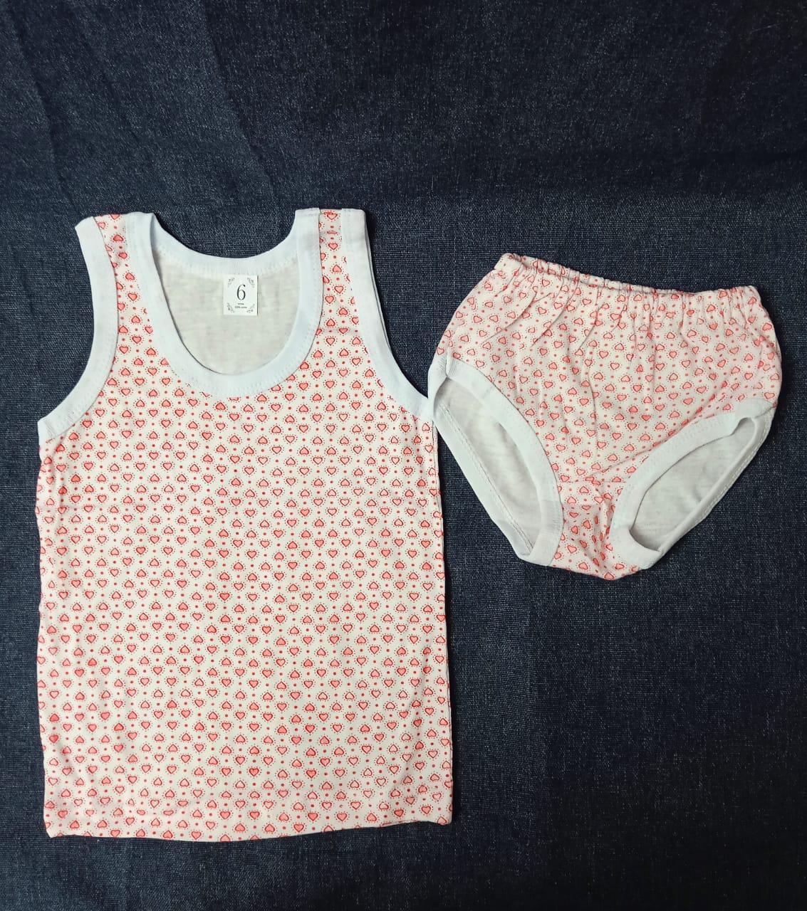 Детский комплект нижнего белья для девочек, артикул: KOM11