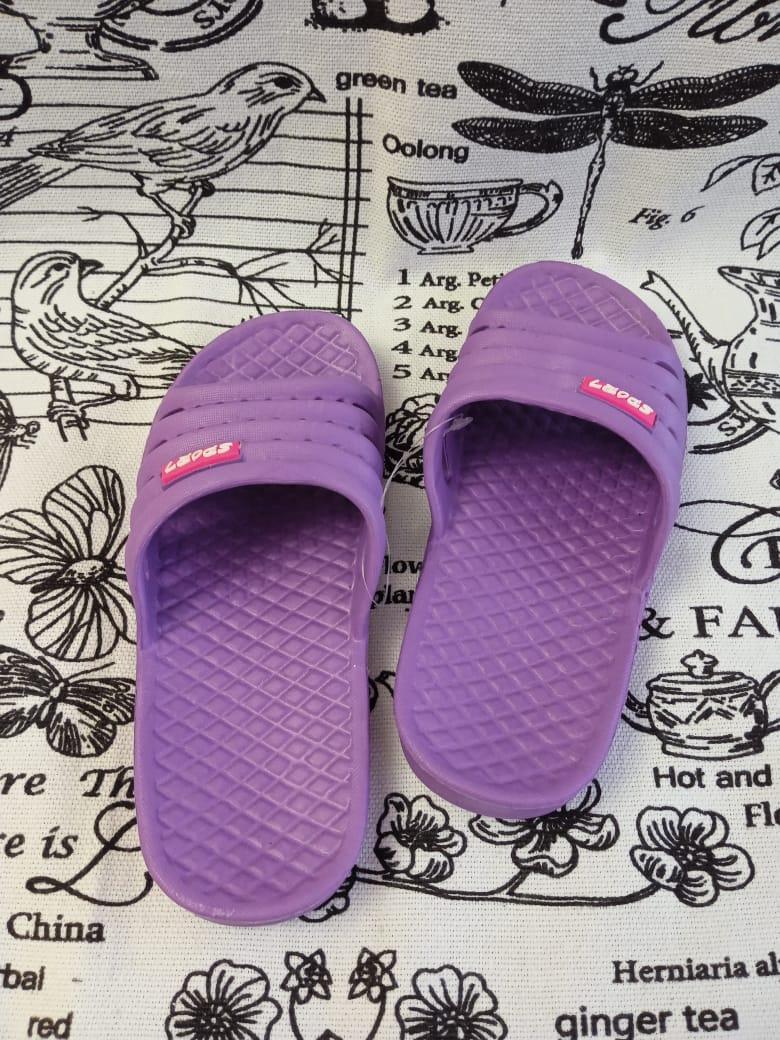 Детские шлепанцы, цвет: фиолетовый, артикул: 1603-3