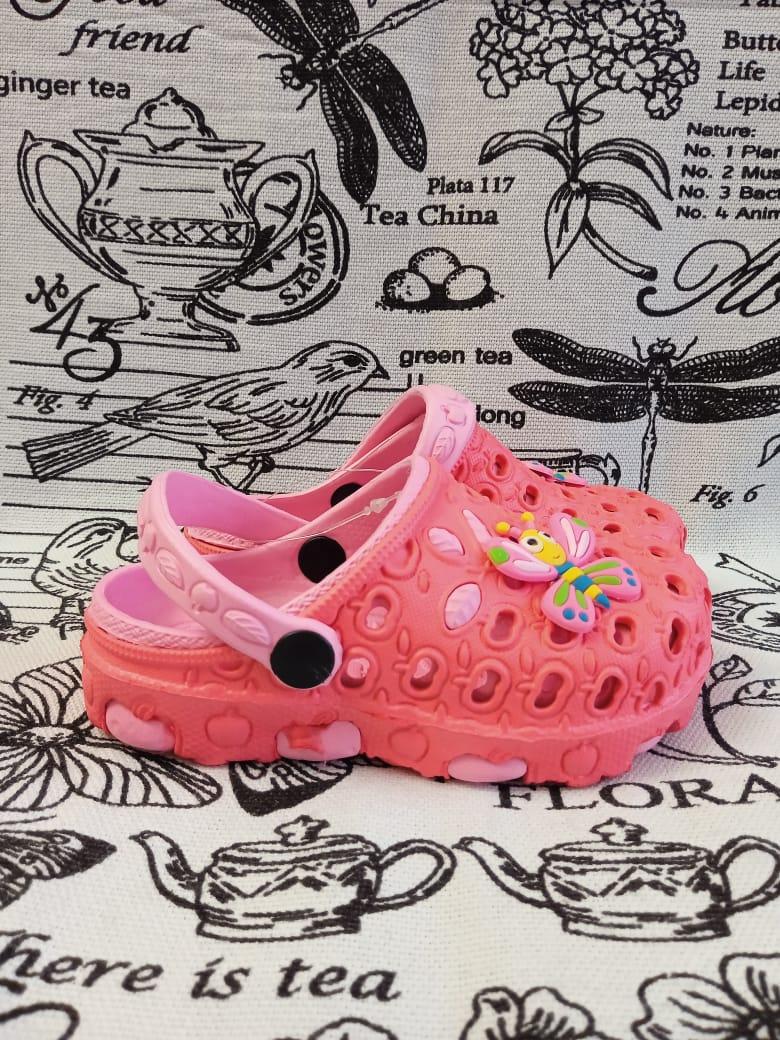 Детские сабо для девочки, цвет: розовый, артикул: SAB1