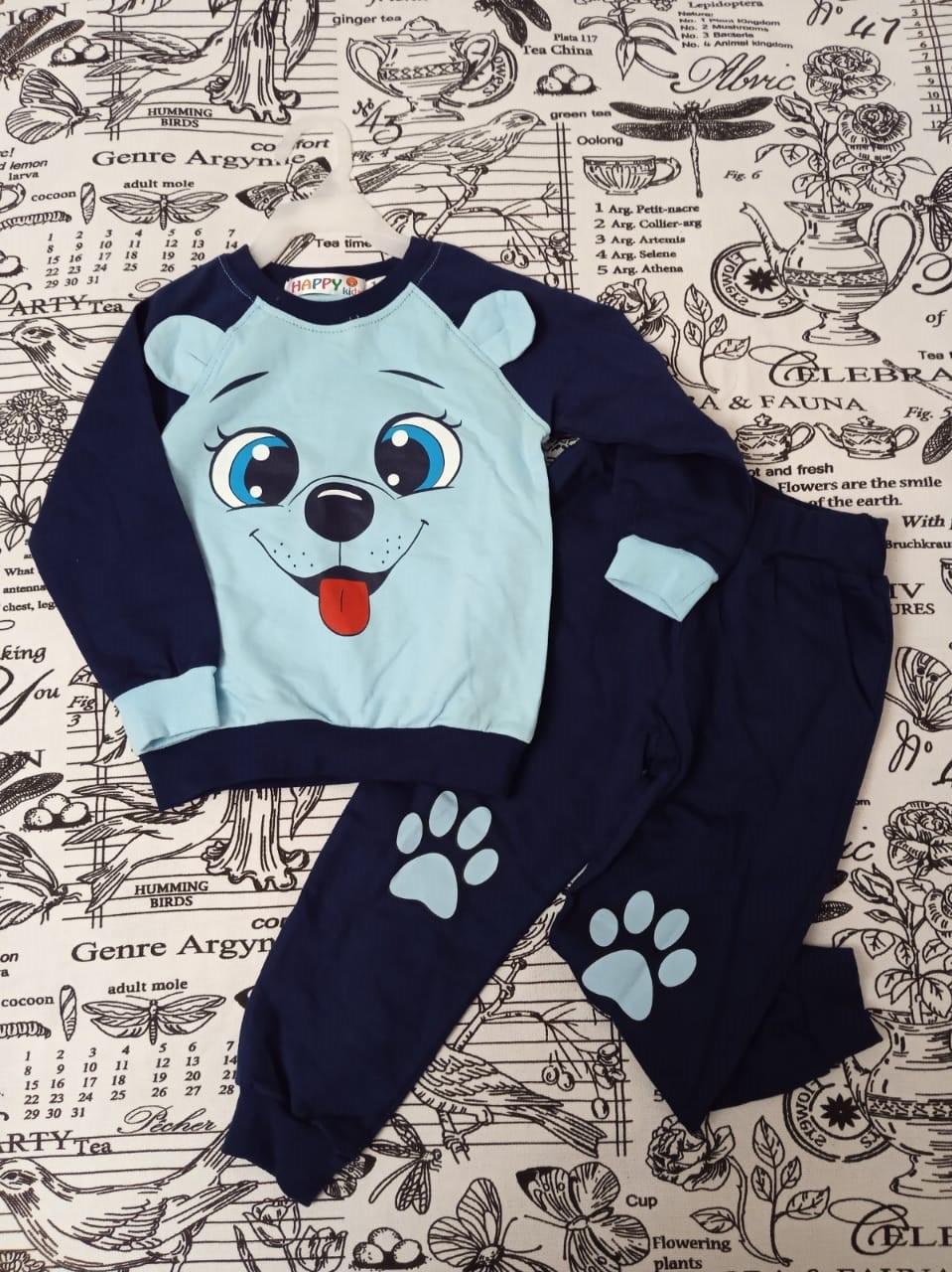 Детский спортивный костюм для мальчика, цвет: голубой, артикул: 8270