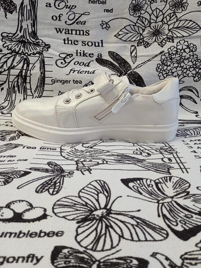 Детские кроссовки для девочек, цвет: белый, артикул: TA19-3-4