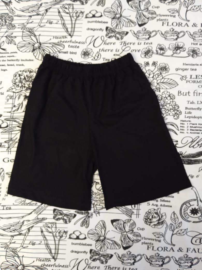 Детские шорты, цвет: черный, артикул: SHO4