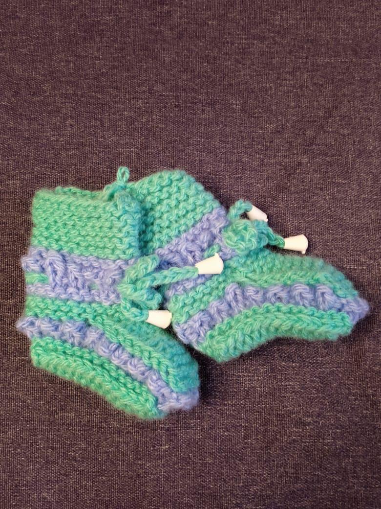 Детские пинетки для малышей, цвет: светло-зеленый, артикул: PIN-8