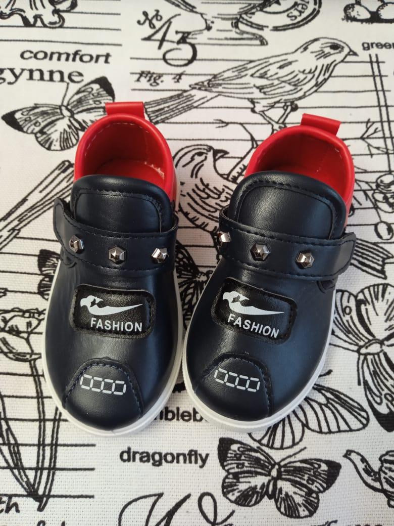 Детские туфли для мальчика ШИККОМПОТ, цвет: сине-красный, артикул: SHIK3