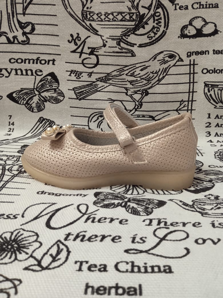 Детские туфли для девочек MEITESI, цвет коричневый, артикул: MEI2