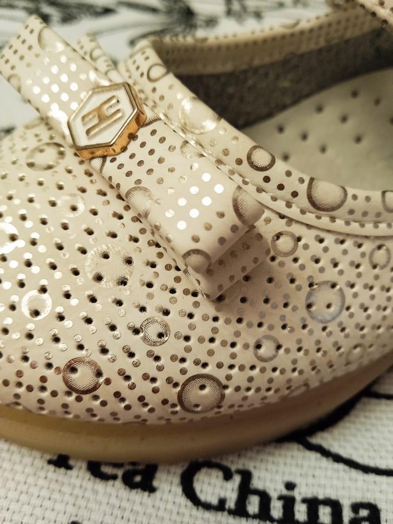 Детские туфли для девочек MEITESI, цвет коричневый, артикул: MEI3