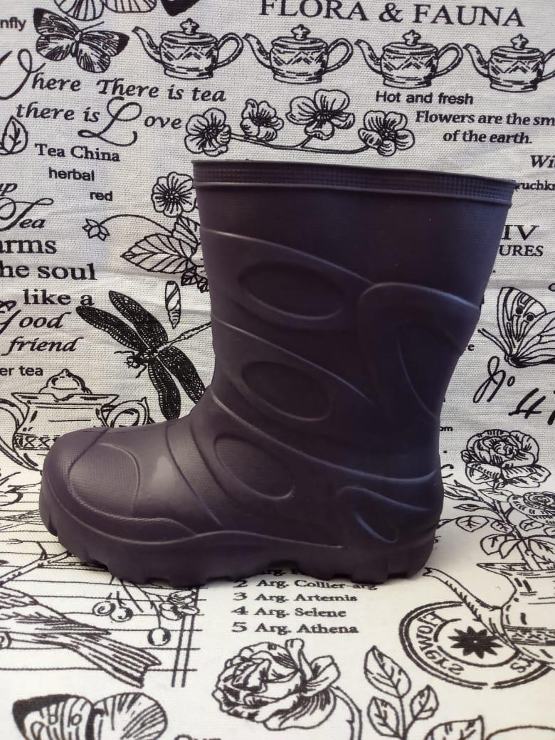 Детские резиновые сапоги для девочек, цвет: фиолетовый