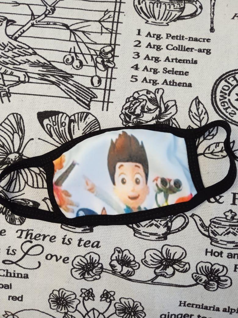 Детская маска защитная многоразовая для мальчиков