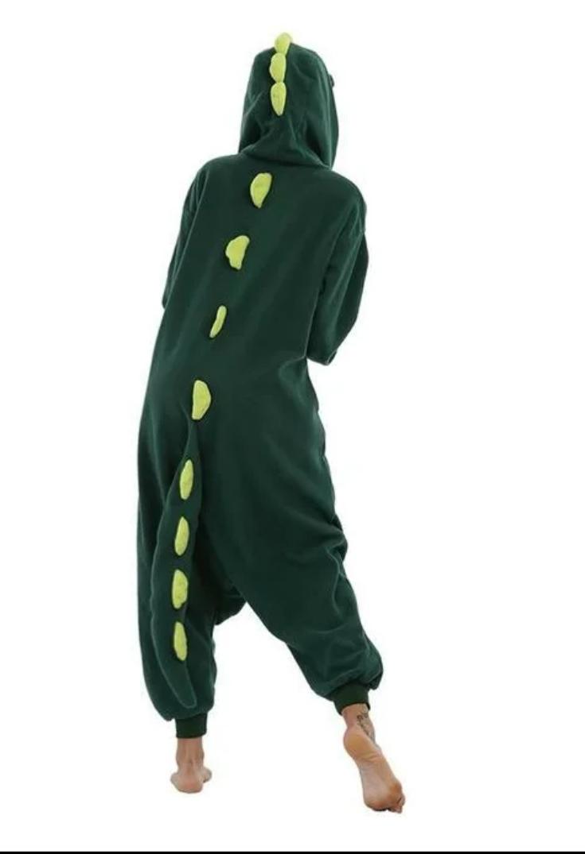Детский кигуруми пижама Динозавр, цвет: зеленый, артикул: KIG-16