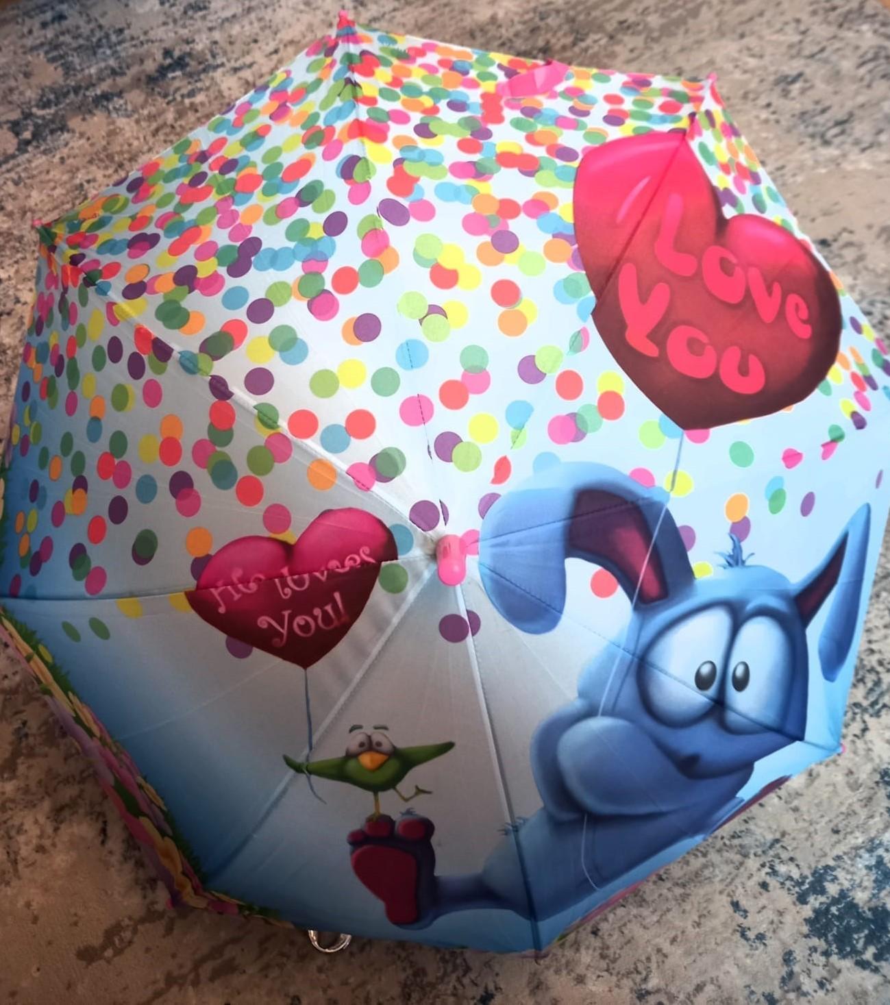 Детский зонт для девочек, артикул: ZONT-1