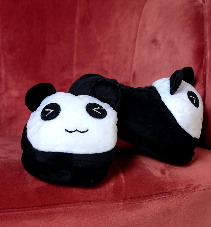 Детские кигуруми тапки Панда, артикул: KIG-22
