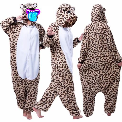 Детский кигуруми пижама Леопард, артикул: KIG-26