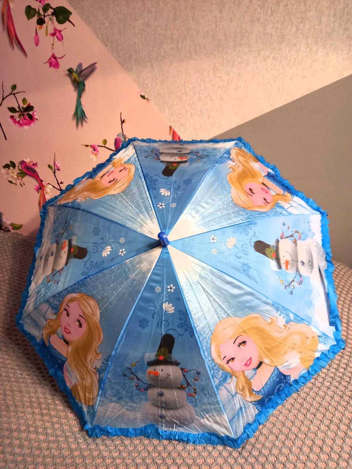 Детский зонт для девочек Принцесса, артикул: ZONT-3