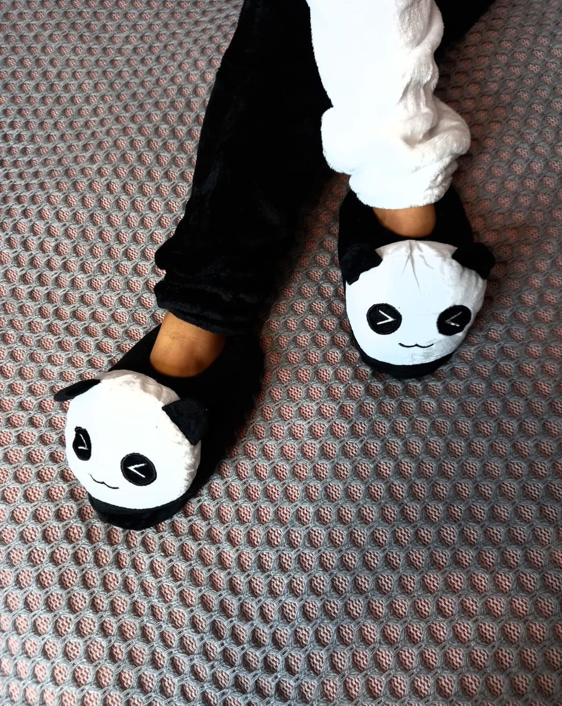 Детские кигуруми тапочки Панда, артикул: KIG-22