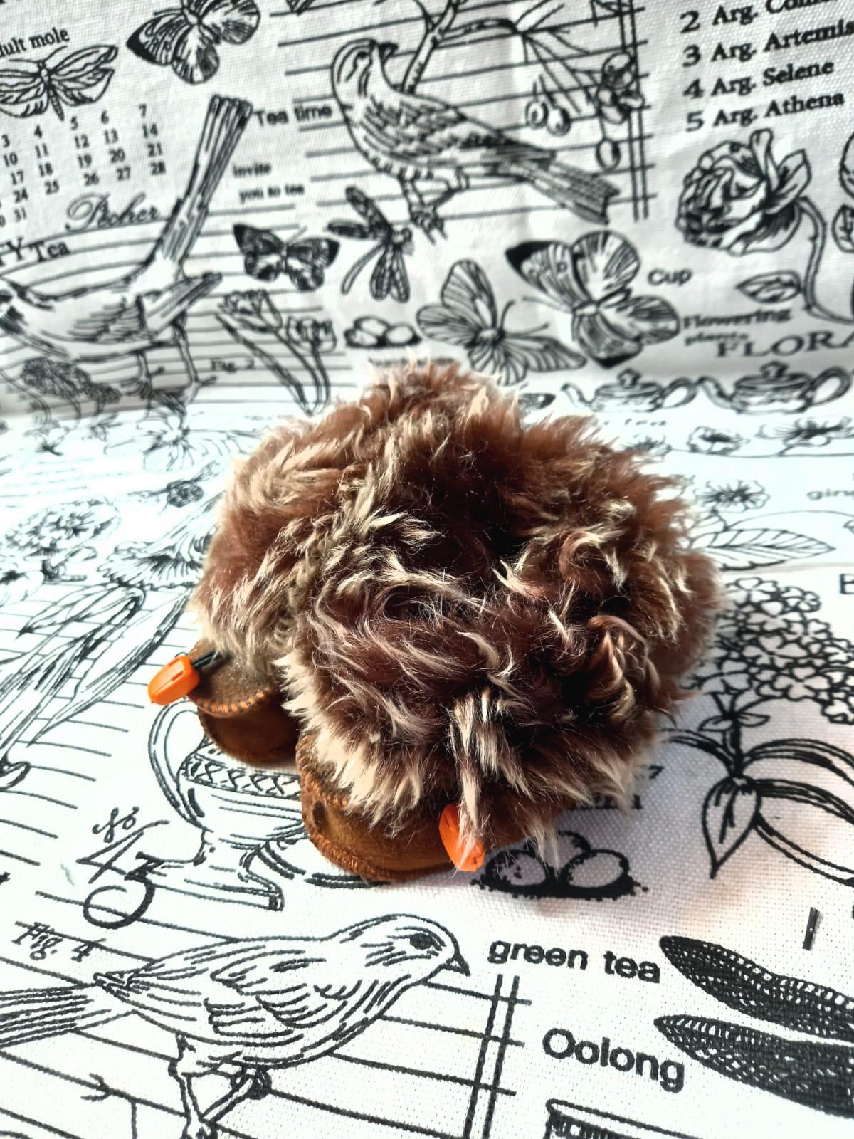 Детские пинетки для малышей из натуральной овчины, артикул: PIN-18